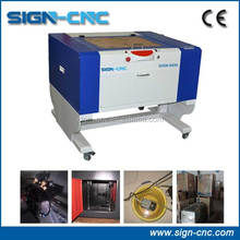 SIGN CNC 5030 RF tube laser engraving machine for guns