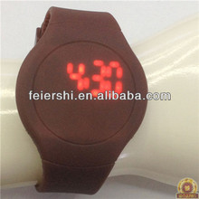 Silicone USB Led Watch ,Eo-friendly Watch Hot selling