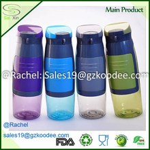 The Best BPA Free Hydration Experience Water Bottle with Storage Container Can Hold Money, Cards, Keys