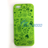 Custom Mobile Phone Cases Cute Cartoon Animal Silicone Case For Iphone 5
