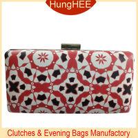 2015 Fancy Design evening clutch bags PU evening clutch and purse HW-P1592