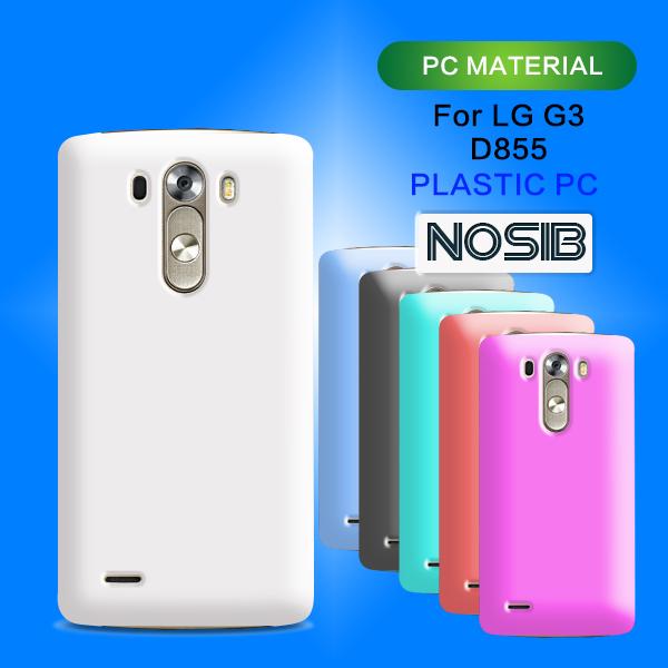 White mobile phone case for lg g3