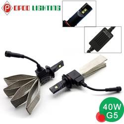 G5 car led headlight, 4000lm single hi/lo beam car led headlight