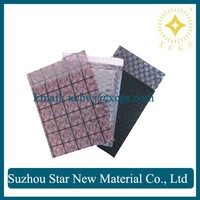 Protective plastic packaging recycled postage/Conductive grid bag