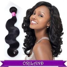 Shanghai ORILAND Best Selling Hair ,virgin hair bundles with body wave