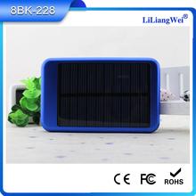 Hot selling portable solar japan mobile phone charger 5000mah