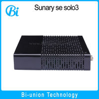 Sunray solo 3 DVB-S2 decoder dual core 1.3ghz Processor 1GB DRAM 256MB Flash Satellite tv Receiver