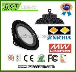 Bridgelux 45mil chip Meanwell CLG-150-36A 120W LED High Bay Light with 3 years warranty CE/ROHS/SAA