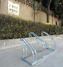 Hot Sale high-low Grid Bike Stand Rack/Cycle Parking Rack