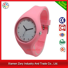 R1096 vogue watch colorful silicone teens watches, custom logo printed chinese wrist watch