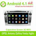 Central multimídia gps para android puro 4. 1. opel antara/zafira/corsa com bluetooth/rádio/tv/gps/3g/wifi/android! De boa quali
