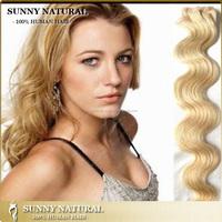 #613 Russian blonde hair extensions blonde human hair weave blonde hair extension