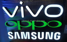 Clear birghtest led sign logo front store led signs