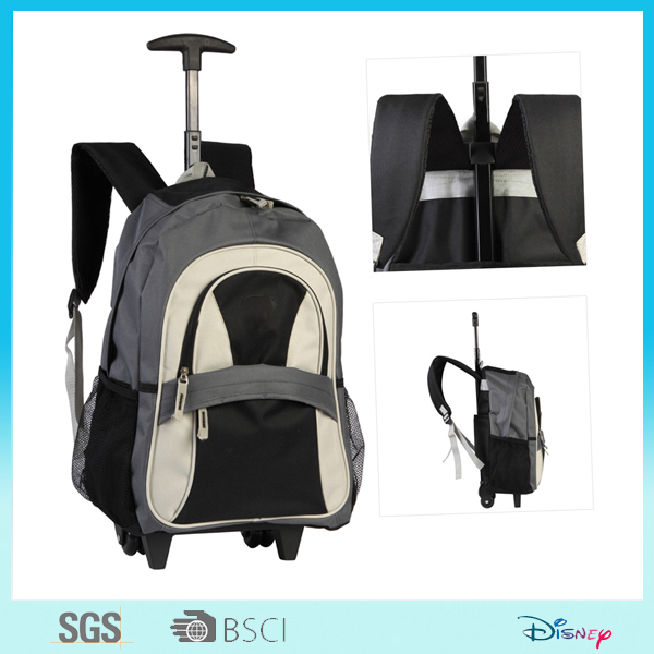 heavy-duty urban travel Trolley Backpack Bag for teenagers
