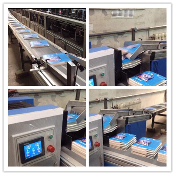 book stacking machine
