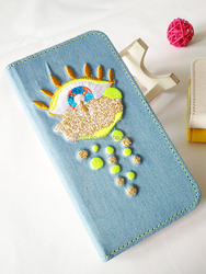 embroidery mobile phone case for iPhone 6