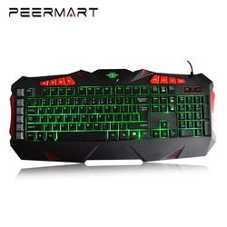 High quality USB Wired Glowing G1-G5 Full Keyboard Backlight Game Mechanical Keyboard
