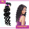 Gold leaf factory supply AAAAA unprocessed wholesale 100% virgin brazilian loose wavy hair