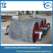 Mineral production and delivery belt line used conveyor roller for 90 degree 180 degree turning roller conveyor