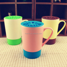 selling fashion new product ceramic mugs with lids