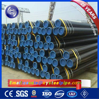 ASTM A106 Hot Rolled Seamless Steel Pipes, API 5L x70 SMLS Steel Polyethylene Lined Pipes