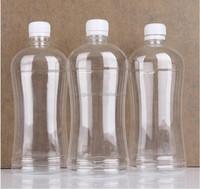 new design 1000ml pet mineral water bottle