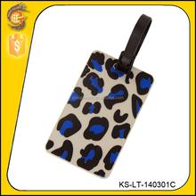 wholesale customized pvc luggage tags