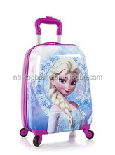 2015 newly frozen Elsa deluxe luggage designed especially for kids with high quality