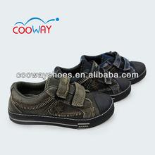 Black classic canvas boys sports shoe buckle shoe