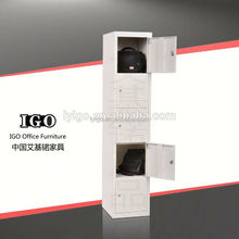 IGO-045 Stuff 3 door clothes steel locker