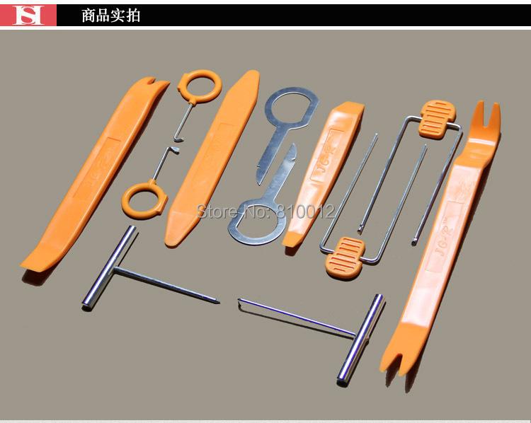 12pcs car removal tools car dvd player kit interior plastic trim panel dashboard ebay. Black Bedroom Furniture Sets. Home Design Ideas