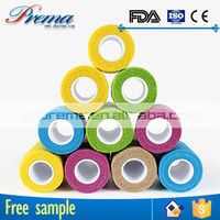 Own Factory Direct Supply Non-woven Elastic Cohesive Bandage 2015 decathlon sports