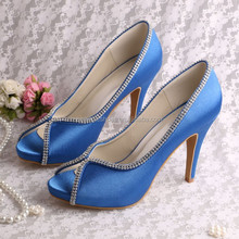 (15 Colors)Sexy Blue High Heels for Party