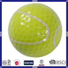 Large colorful customized floating golf ball