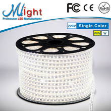 Mlight 3rd Generation 110V/220V Flexible LED Strip Lights 970 White IP45 CE RoHS Paypal