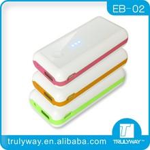 EB-02 5200mAh power bank for macbook pro /ipad mini
