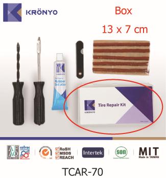 KRONYO electric bike kit gas cylinder Co2 tire repair tools kits