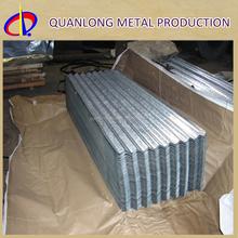 SGCC DX51D Zinc Corrugated Sheet Metal Roofing Used