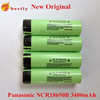 Lithium battery 18650 3400mAh for panasonic 18650 batteries NCR18650B high capacity cell