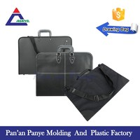 Free Sample hand zipper drawing waterproof plastic art portfolio/document bag