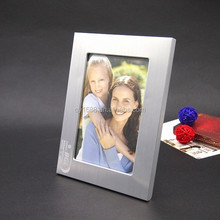 Cepillo de plata del marco marco de fotos tamaños venta