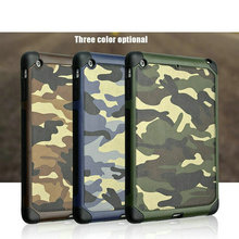 For ipad mini/mini2 (Smart Cover) Smart case with stand for Apple iPad mini 3 Camouflage leather case