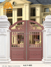 AJLY-605 More Than 70 Years lifetime Luxury Prefab Villa Main Door Design
