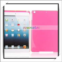 Transparent Crystal-clear Full Protective Case for iPad Air Rose Red