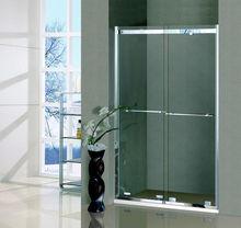 DOMO bath shower screens glass with double sliding door