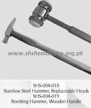 Reviting Hammer , Wooden Handle