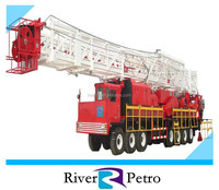 Onshore workover rig XJ 650 for oil well