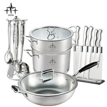 stainless steel cookware sets/cutlery kitchenware/kitchen utensils -DX-A07
