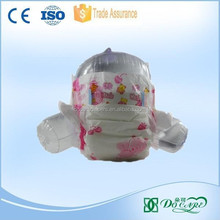 new design leak guard colord PE disposable sleepy baby diaper