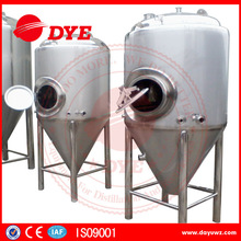 Dimple jacket conical beer brewing fermenter equipment